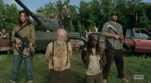 Hershel and Michonne