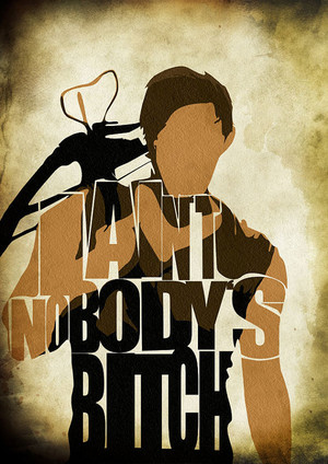 Daryl's nobody's chienne