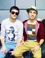 Tom and Nathan - the-wanted photo