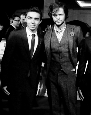 Nathan Sykes and جے McGuiness
