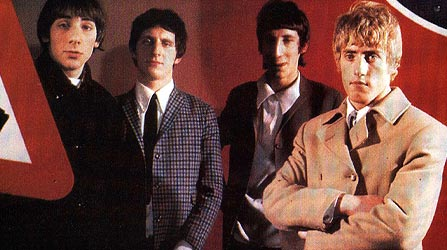 The Who wallpaper with a business suit and a suit called The Who 1960s