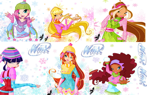 Winx club winter outfit