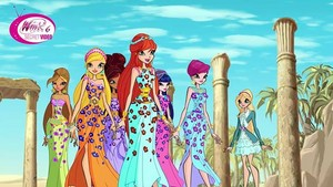Winx in Egypt~ Season Six Outfits