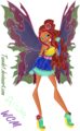 Aisha: Mythix - the-winx-club fan art