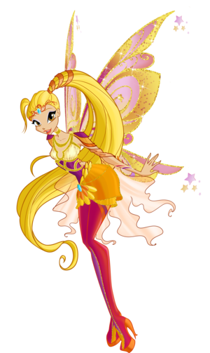 Winx Club season 6 Stella Bloomix\Клуб Винкс сезон 6 Стелла Блумикс