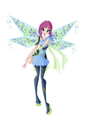 Winx club season 6 Tecna Bloomix\Клуб Винкс сезон 6 Техна Блумикс