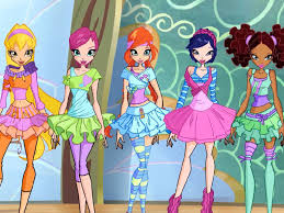 Winx Ballerina outfits