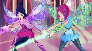 Musa and Tecna~ Bloomix