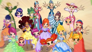 The Winx and The Pixies