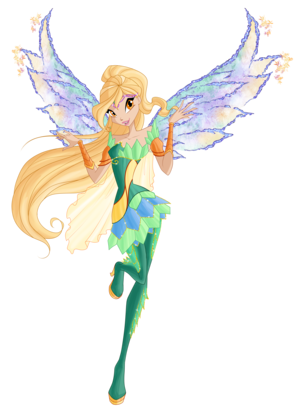 Winx club season 6 Daphne Bloomix\Винкс клуб 6 сезон Дафна Блумикс