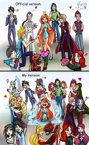 Winx Club fond d'écran possibly with animé entitled Relationships