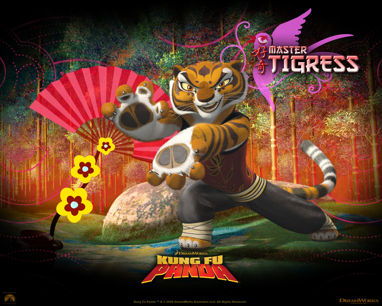 The Kung Fu Panda Images Master Tigress Hd Wallpaper And Background