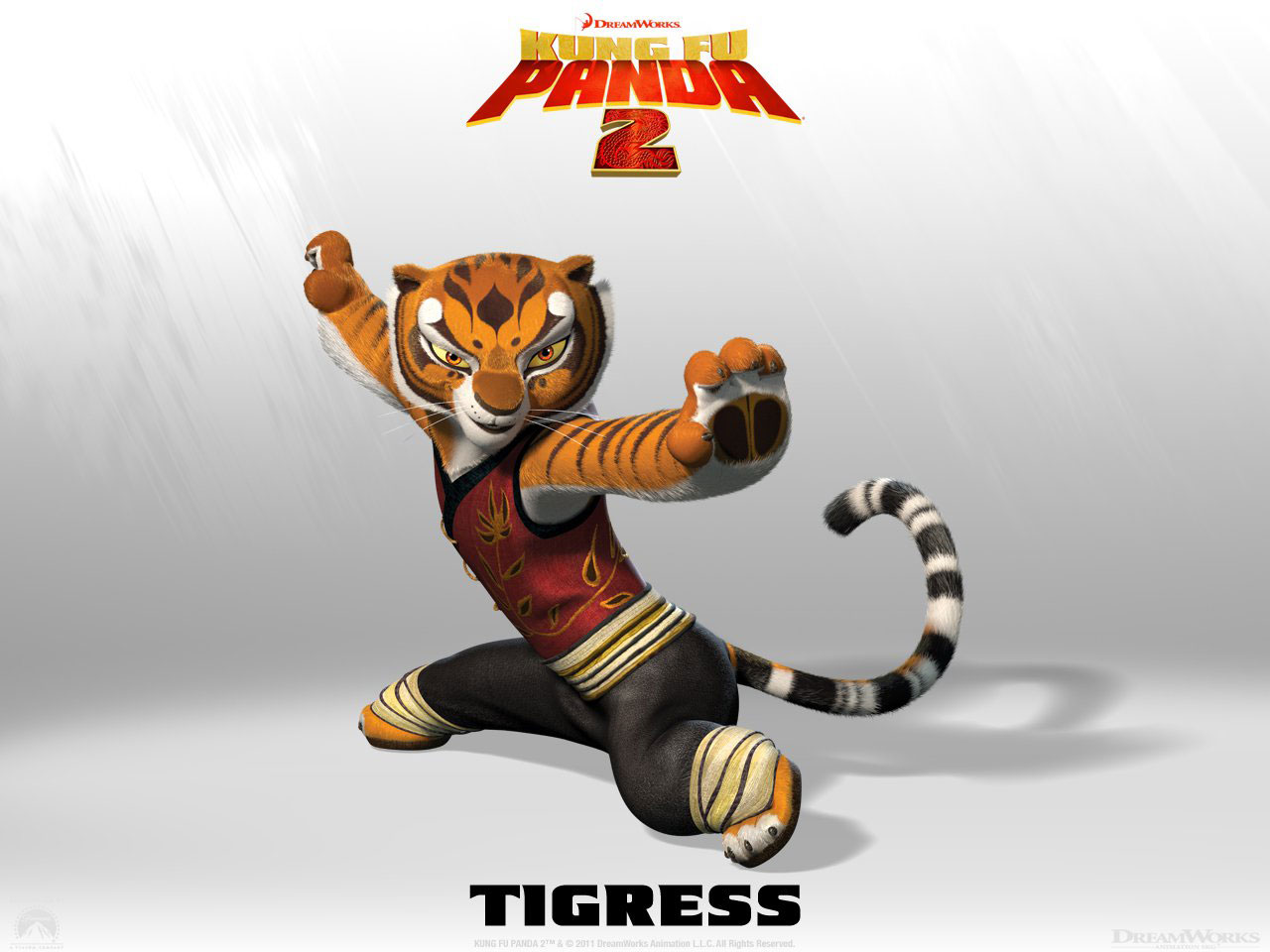 the kung fu panda images kung fu panda tigress hd wallpaper and
