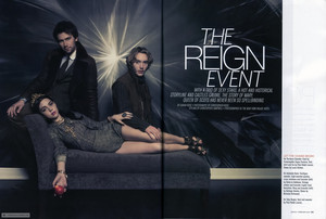 "Magazine Scan ""The Reign Event"""