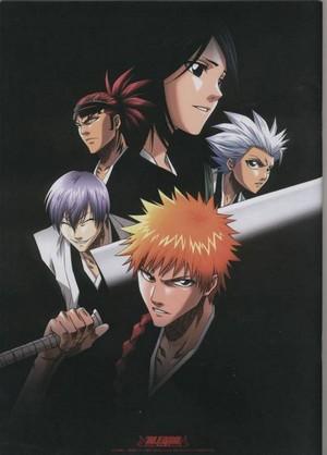 Toshiro, Rukia, Renji, gin and Ichigo