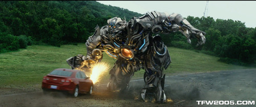 transformers wallpaper probably containing a horse trail, a horse wrangler, and a lippizan titled Decepticon Beast 2