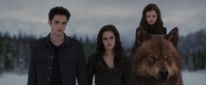 Edward Renesmee and Bella