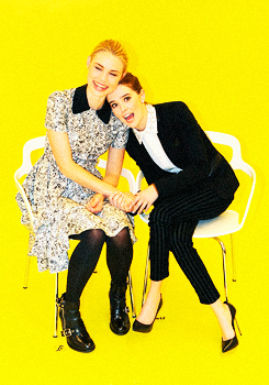 Zoey and Lucy at Buzzfeed
