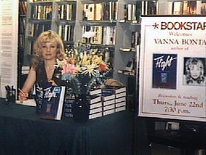 Vanna Bonta booksigning