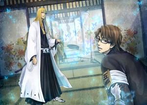 Shinji Hirako (and Aizen)