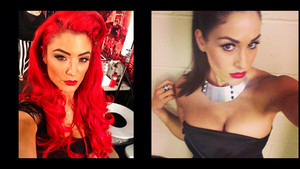 Diva Selfies - Eva Marie and Nikki Bella