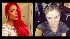 Diva Selfies - Eva Marie and Renee Young