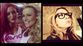 Diva Selfies - Eva Marie,Natalya,Renee Young - wwe-divas photo