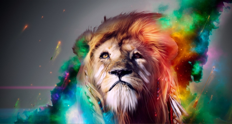 虹 Lion