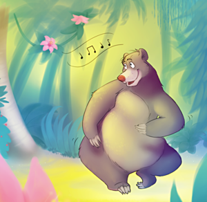 Walt Дисней Фан Art - Baloo