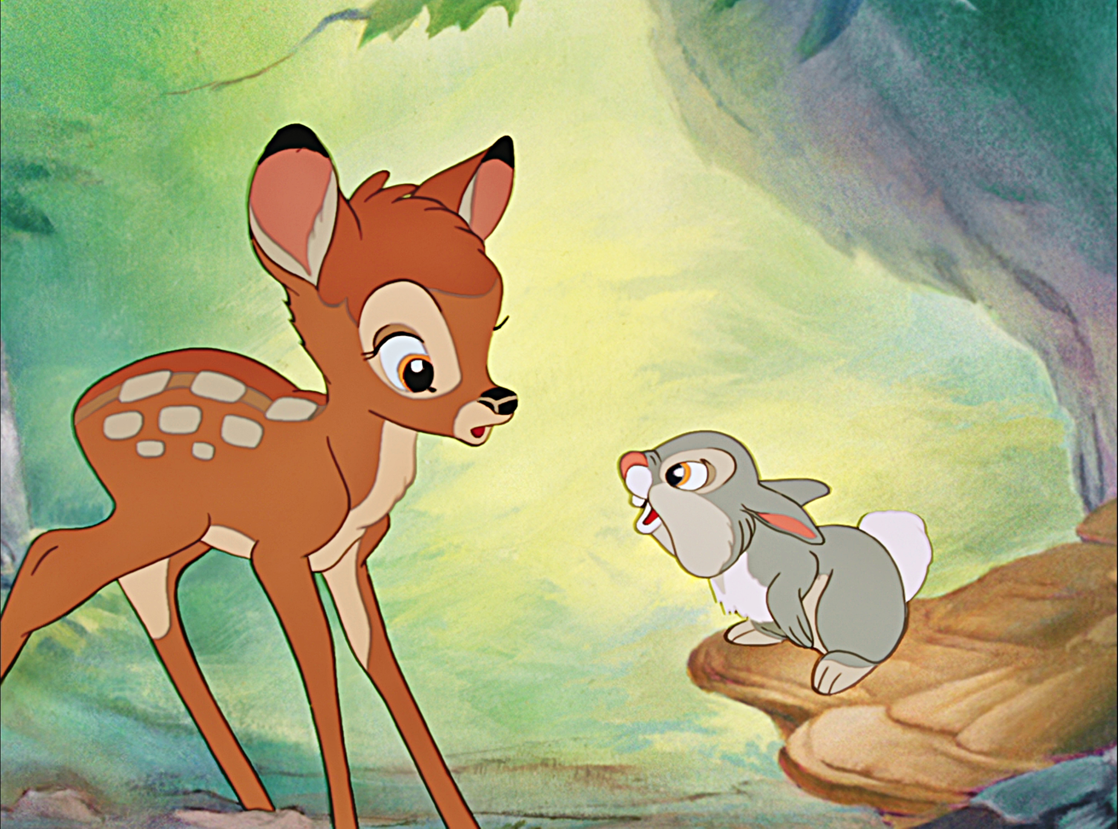 an examination of the nature the movie bambi portrays