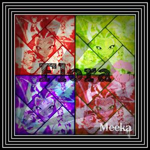 Flora Popart Collage