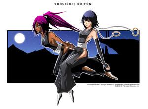 *Yoruichi / Soifon*