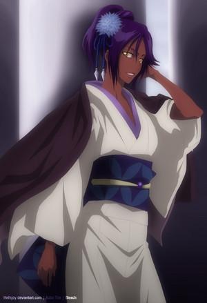 *Yoruichi Shihoin*