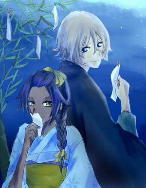 *Yoruichi / Kisuke*