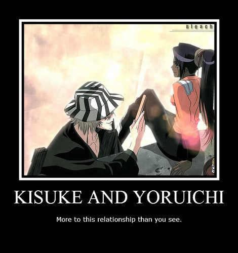 urahara and yoruichi relationship test