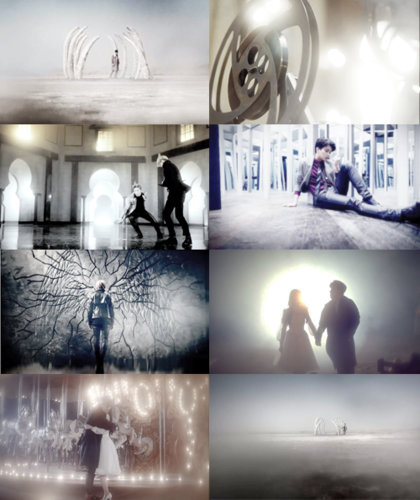 Youngjae wallpaper containing a living room called Youngjae - 1004(Angel) MV