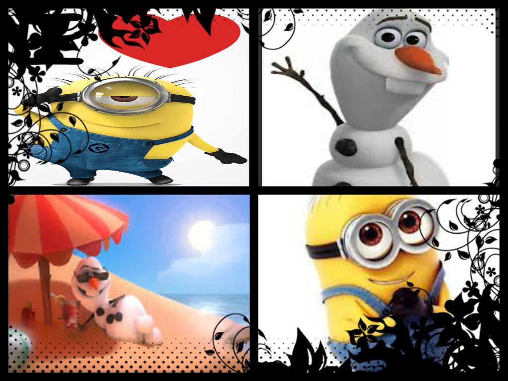 Cute Collage Minions Fan Art 36531916 Fanpop