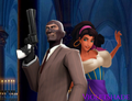 Esmeralda and Spy - disney-crossover photo