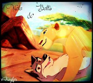 Nala and Balto.