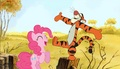 TiggerXPinkie Pie - Tigger And Pinkie Pie Are Happy - disney-crossover photo