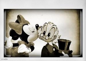 Vintage $crooge & Minnie