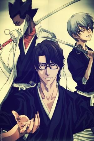 ginebra Ichimaru, Kaname Tosen and Sosuke Aizen