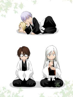 ginebra Ichimaru, Aizen and Ukitake