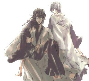ginebra Ichimaru and Aizen and Momo