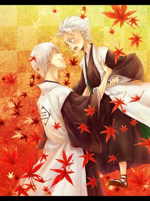 ginebra Ichimaru and Hitsugaya