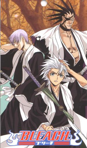 ginebra Ichimaru, Toshiro Hitsugaya and Zaraki Kenpachi