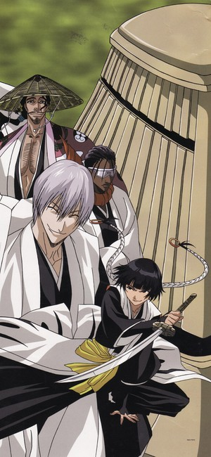 जिन Ichimaru, Kyoraku and Tosen