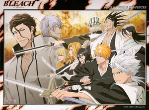 джин and Aizen vs Shinigamis