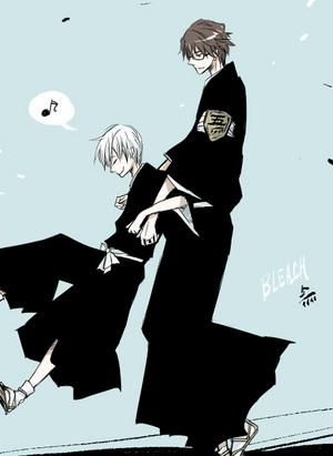 ginebra Ichimaru and Aizen
