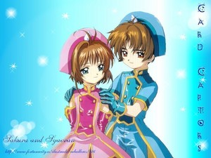 Anime Couples - Sakura and Syaoran